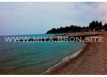Собственный пляж| База отдыха «МИЯ»| Абхазия, Гудаутаский район, Гудаута